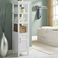 Freestanding Linen Cabinet Outstanding Bathroom Linen Cabinet Tower Furniture Contemporary