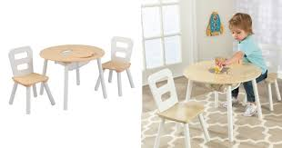 target round table and chair white natural only 38 08 regular 53 99