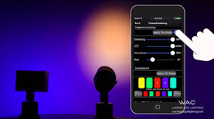 wac landscape lighting color changing fixtures ilumenight app
