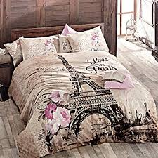 full size duvet.  Size Paris Home 100 Cotton 5pcs Full Size Comforter Set Eiffel Tower In Spring  Floral Bedding On Duvet
