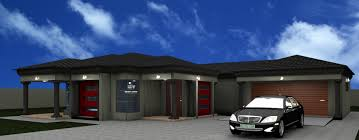 3 bedroom house plans with double garage in south africa new