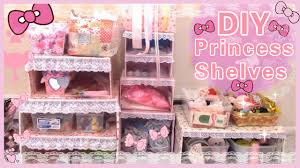 Princess Bedroom Accessories Diy Room Decor Make Your Own Princess Shelveseasy Youtube