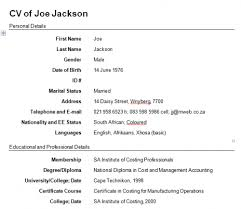 Easy Way To Write A Resume Resume Template Ideas