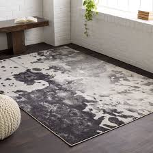 black and grey area rug inspirational grey and black area rugs rugs ideas