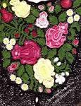 159Бутоны розы для ирландского кружева