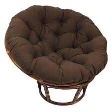 Blazing Needles 44-inch Solid Twill Papasan Cushion - Free Shipping Today -  Overstock.com - 15295399