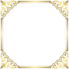 Fancy That Boutique Louenhide Clip Art Gold Border Frame