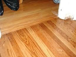 transitioning wood flooring between rooms hardwood floor transition