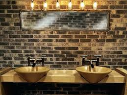 lighting in the bathroom. Industrial Style Vanity Lights Bathroom Lighting Bulb Light Fixture In The