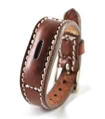 fitbit flex 2 leather bracelet fit bit band image