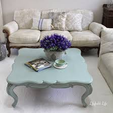 Beautiful Traditional Round Coffee Table Coffee Tables Beautiful Duck Egg Clue French Coffee Table Blue