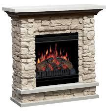 unique faux stone electric fireplace