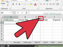 Make Schedule On Excel How Can I Make A Schedule Using Excel Serpto