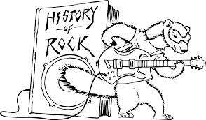 rock n roll coloring book with coloring rock and roll coloring pages n rocks royalty free
