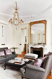 french grey home decor with white carpet floor French Home Decor