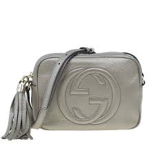 gucci metal leather soho disco bag nextprev prevnext