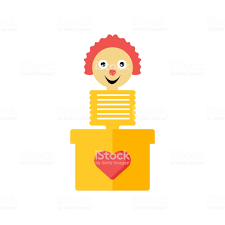 jack in the box logo vector.  Vector Jack In The Box Icon Vector Sign And Symbol Isolated On White Background  To In The Box Logo Vector T