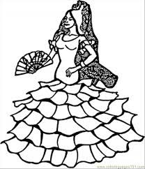 Small Picture Spain Coloring Pages
