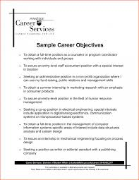 Classy Resume Employment Goals Examples For Career Objective Goal