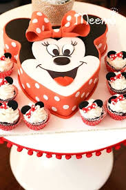 Minnie Mouse Red Birthday Cake Mouse Birthday Cake Minnie Mouse