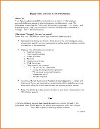 College Resume Sample College Resume Examples For High School Seniors ArtusMaroc 56