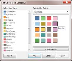 Tableau Bar Chart Different Colors Color Palettes And Effects Tableau