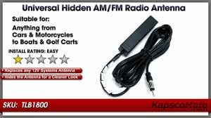 am fm antenna universal motorcycle and car radio windshield antenna you