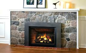 gas fireplace inserts vent free gas inserts zero clearance vent free fireplace insert to combustibles installation