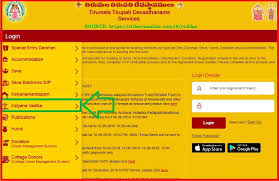 Tirumala Accommodation Availability Chart Ttd Online Room Booking Registration Ttd Seva Online