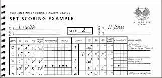 Sample Tennis Score Sheet Template Sample Tennis Score Sheet Template staruptalent 1