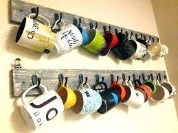 coffee cup wall rack coffee mug holder wall mount coffee mug rack best mug rack ideas coffee cup wall rack metal wall mug