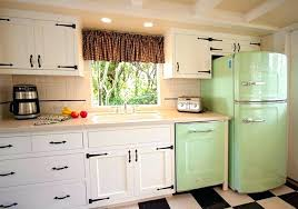 Retro Kitchen Ideas A Modern Take On A Retro Kitchen With Curved Red Cool Modern Vintage Kitchen