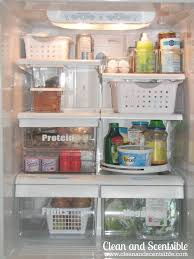 lots of tips and tricks to organize your fridge and freezer via clean