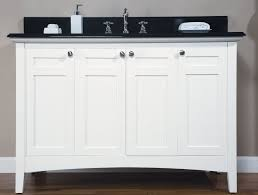 48 inch single sink shaker style bathroom vanity with choice of counter top uveib48w
