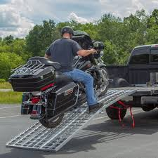 Black Widow Motorcycle Pickup Truck Transport Kit Loading Ramp + ...
