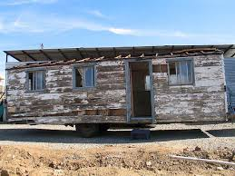 tiny house trailers. old tiny house on trailer trailers