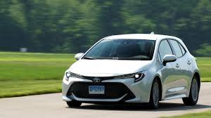 Toyota Corolla 2019 Dashboard Warning Lights 2019 Toyota Corolla Hatchback Delivers Driving Fun