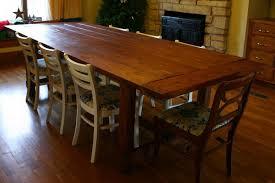 post farm dining room tables