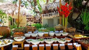 round table buffet hours home design planning for conventional themed dinner buffet at bluewater maribago beach