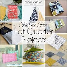 Want an easy DIY Sewing Project made from fat quarters. All you need are a