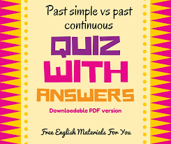 past continuous – Free English Materials For You
