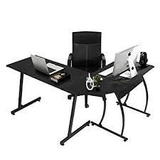 gaming corner desk.  Desk Coavas Computer Office Desk LShaped Wood Corner Workstation  Large PC Gaming Throughout