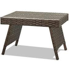 wicker folding patio tables patio