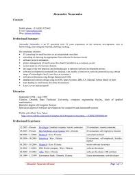 Resume Template Open Office Image Gallery Resume Templates Open