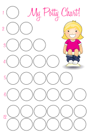 Potty Training Chart For Girls Potty Training Chart For Girls Major Magdalene Project Org
