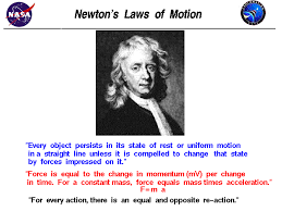 newton s laws of motion portrait of isaac newton and listing of this three laws of motion
