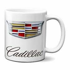 Get it while it's hot! Cadillac Coffee Mug 11oz Ceramic Ats Suv Gm Cadi Ebay