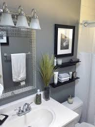 gray bathroom designs. This Colorful, Small Gray Bathroom Makeover Can Be Done In Just 1 Weekend With Grant Designs