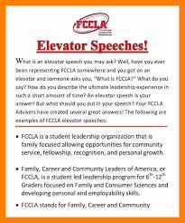 9+ elevator speech examples
