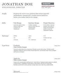 Curriculum Vitae Resume Format Resume Web
